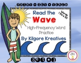 Read the Wave {No Prep High-Frequency Word Practice Set #1}