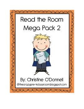 Read the room mega pack 2: 22 sets with recording sheets