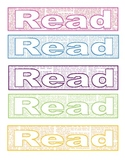 Read themed Bookmarks