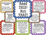 Read this, not that! Interactive Bulletin Board that uses Common Core