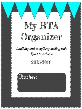 Read to Achieve Organizer