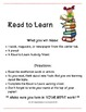 Read to Learn Center