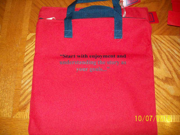 Read to Me Take Home Books Canvas Bags (Set of 11)