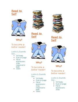 Read to Self Bookmark
