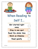 Read to Self Checklist
