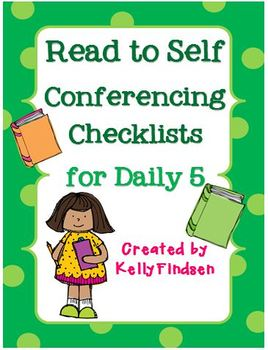 Read to Self Conferencing Checklists for Daily 5