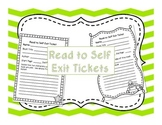 Read to Self Exit Ticket