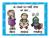Read to Self Expectations Poster