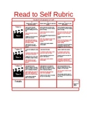 Read to Self Hollywood Student Evaluation Rubric