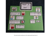 Read to Self I-Chart with Sign Language & Visual Supports