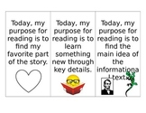 Read to Self : My Purpose Bookmarks