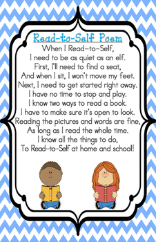 Read to Self Poster/Anchor Chart