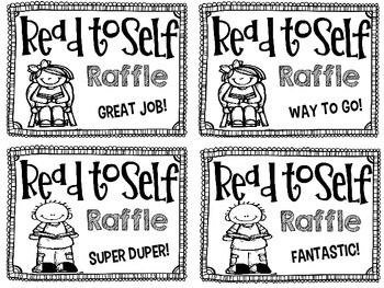 Read to Self Raffle Tickets