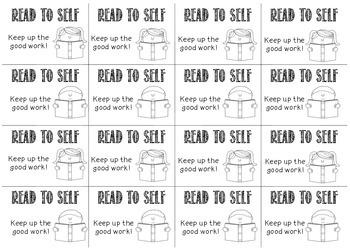 Read to Self Raffle Tickets