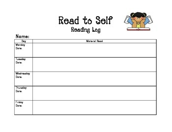 Read to Self Reading Log