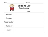 Read to Self- Reading Log