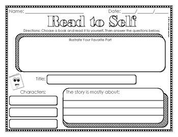 Read to Self Response Sheet