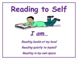 Read to Self Small Poster