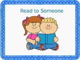 Read to Someone Can Be Fun!