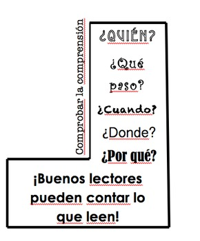 Read to Someone: Check Mark **SPANISH for Check for Understanding