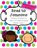 Read to Someone: Check for Understanding