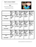 Read to Someone Checklist for Daily 5