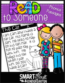 Read to Someone Phonics Passages (Short Vowel Packet)