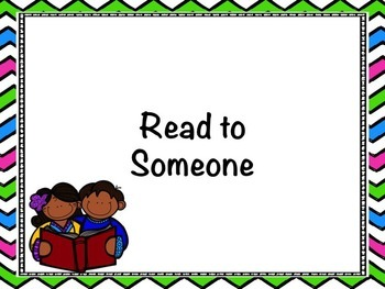 Daily 5 Read to Someone PowerPoint