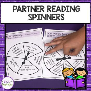 Partner Reading Spinners