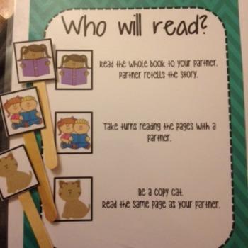 Read to Someone (Student Choice Sticks)