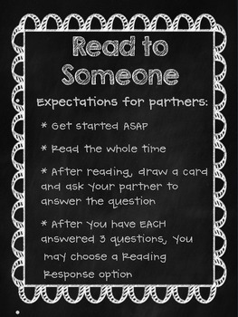 Read to Someone Task Cards