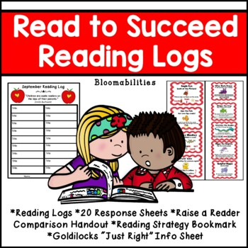 Reading Logs and Homework Program: Read to Succeed (Monthly Logs)