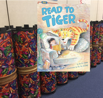 Read to Tiger: Drumming meets Literature