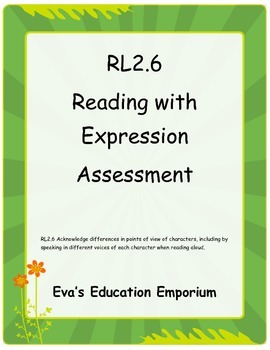 Read with Expression Test   RL2.6