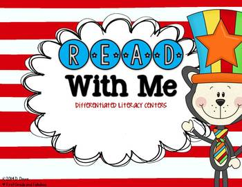 Read with Me--Differentiated Literacy Centers