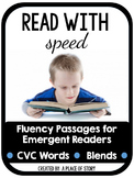 Fluency Passages for Beginning Readers (CVC and BLENDS)- D