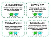Read with a Partner Fluency Task Cards
