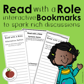Read with a Role Interactive Bookmarks