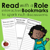 Read with a Role Interactive Bookmarks - Guided Reading -