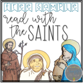 Read with the Saints Comprehension Passage Freebie