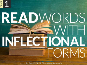 Read Words with Inflectional Forms