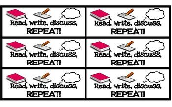 Read, write, discuss... bookmark