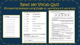 Read180 Stage A, Food: The Good, the Bad, and the Gross VO