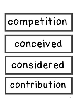 Read180 Universal A Vocab Word Wall