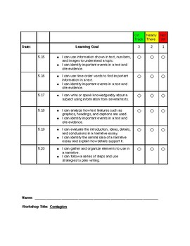 Read180 Universal Learning Goal/Scale Workshop 5