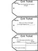 Read180 Universal Stage B Exit Tickets- Workshop 2