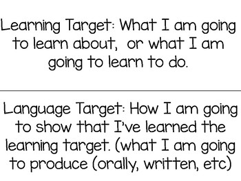 Read180 Universal Stage B Learning/Language Targets