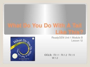 ReadGen First Grade Unit 1B Lesson 12