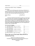 ReadWell K Homework Packet Units 1 to 10