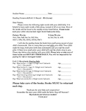 ReadWell K Homework Packet Units 11 to 20